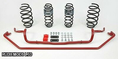 Eibach Ford Fiesta ST180 12 onwards Lowering Springs 15mm and Uprated Roll Bars