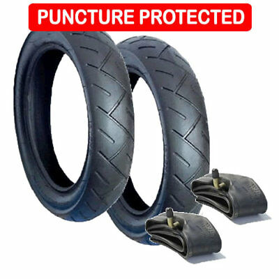 Puncture Resistant Tyre and Inner Tube Set  for Maxi Cosi Mura  FREE 1ST CLASS