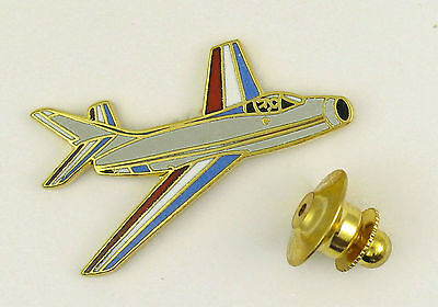 Pin's pin badge ♦ AVION AIRCRAFT MILITAIRE EMAIL MYSTERE IV PATROUILLE DE FRANCE