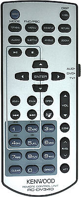 Kenwood Kvt-512 Kvt512 Genuine Rc-Dv340 Remote *pay Today Ships Today*