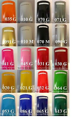 "10 Rolls 12"" x 10 feet Oracal 651 HQ  Vinyl for Craft Cutter Choose Color"