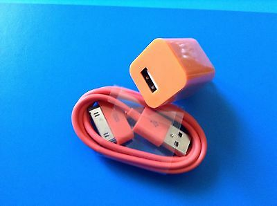 Orange Apple Charger 4Th Generation