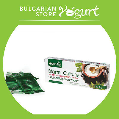 Bulgarian Starter Culture-Traditional Yogurt by GENESIS LABORATORIES  up to 20l