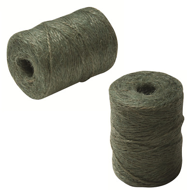 Classic Natural Jute Green Garden Twine String 100m - Multi Use Garden or Home