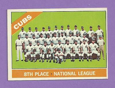 1966 Topps Chicago Cubs Team #204 EX+/EXMT *G0204-2* FLAT SHIPPING