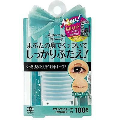 AB Automatic Beauty Double Eye Tape 100 PCS Makeup Double Eyelid From Japan