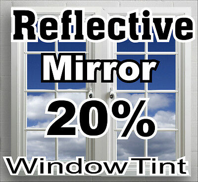 Mirror Reflective Window Tint  Film 1525mmx10 Metre Rolls Made in USA