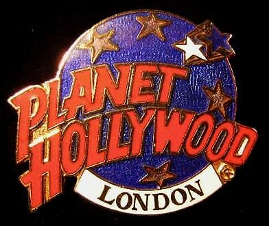 PLANET HOLLYWOOD LONDON - COLLECTOR PIN - BROOCH STYLE