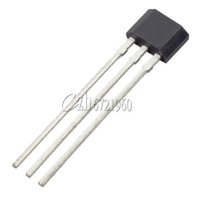50Pcs New A3144 A3144E OH3144E Hall Effect Sensor