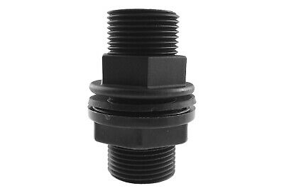 "1""BSP MDPE Water Pipe, hozelock compatible Storage Tank Water butt connector"