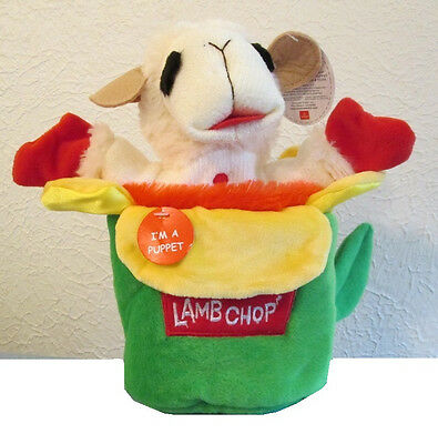 "LAMB CHOP POP UP HAND PUPPET - by Aurora World - 10"" - NEW - #15258 - CLEARANCE!"