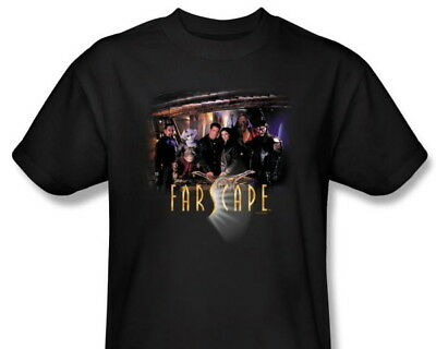 Farscape TV Series Complete Main Cast T-Shirt, NEW UNWORN