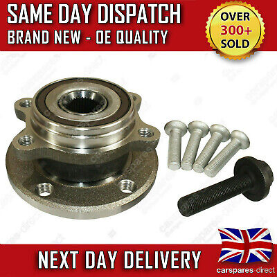 Vw Passat B6 B7 4 Stud Front / Rear Hub Wheel Bearing Kit + Abs Sensor 2005>2014