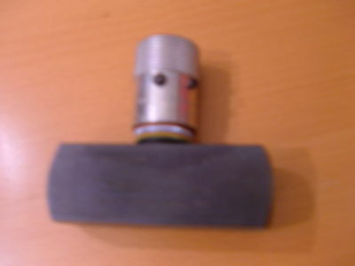 """PARKER HYDRAULIC NEEDLE VALVE N1020S, STEEL, 15 GPM, 7/8"""" SAE 1-3/16-12, 5000PSI"""
