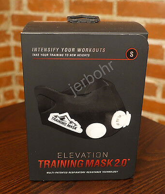 ELEVATION Training Mask 2.0 High Altitude MMA Fitness - Small = 100 - 149 lbs.