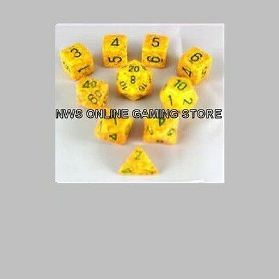 Koplow RPG Dice Set: Lotus Speckled Poly (10)  - NEW FREE SHIPPING