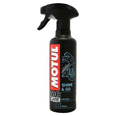 Motul Shine & Go E5 Silicon Clean 400ml Trigger Spray