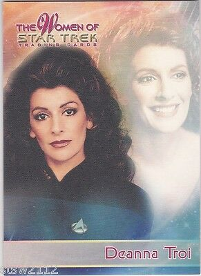 Star Trek Women Of P4 Rare Internet Convention Exclusive Promo Deanna Troi Tng