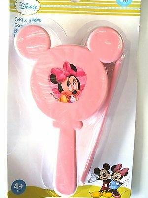 Set Spazzola + Pettine Rosa Disney Minnie