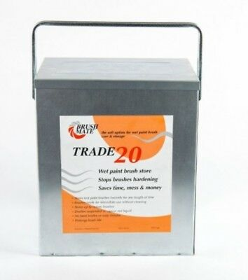 Brush Mate - Trade 20 Paint Brush Storage Solution With Fluid