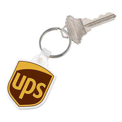 United Parcel Service Ups Brown  Key Chain