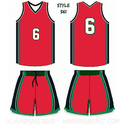 10 ADULT BASKETBALL UNIFORM SETS jersey-shorts CUSTOM MADE TO ORDER style wb-561