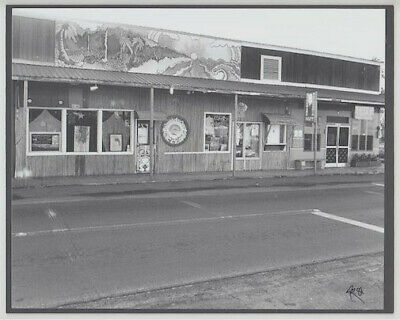 "Kaala Arts / Haleiwa Cafe 1981 Kam Hwy Hand Printed By Photographer On 8X10"" Mat"