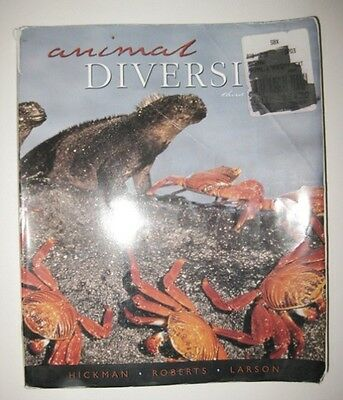 Animal Diversity by Larry S. Roberts, Cleveland P. Hickman and Allan Larson...