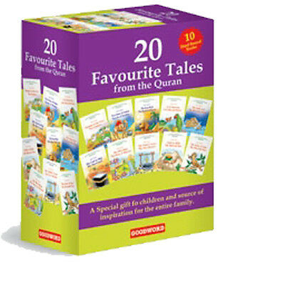 20 Favourite Tales From The Quran Gift Box (10 H/b Books) - Kids Goodword Books