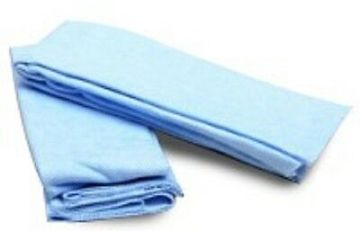 New 1 Case - Thirsty Blue Cleaning Towels 66cm x 50cm Disposable - 200 per Case