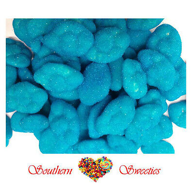 1Kg Blueberry Clouds Blue Lollies Bulk Candy Buffet Baby Shower Christening Ect
