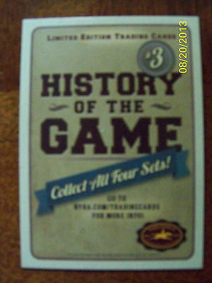 2013 SARATOGA RACE COURSE History of the Game Trading Cards - Set 3
