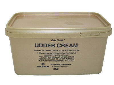 Gold Label Udder Cream x 2 Kg - Horse/Pony First Aid Care