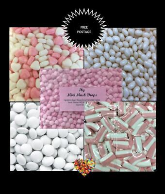 DIY option Candy Buffet Pink & White Lollies & Chocolate Lolly Bulk 5.5kg