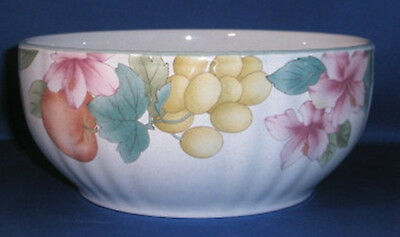 Mikasa Fruitage Round Serving Bowl 7.5 Inches DC026