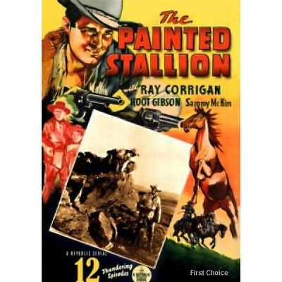 "The Painted Stallion - Cliffhanger Movie Serial DVD Ray ""Crash"" Corrigan"