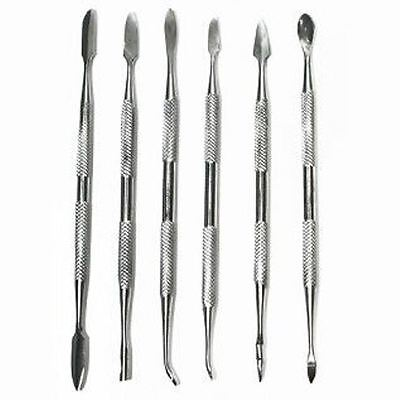Wax carvers 6pc Stainless Steel ideal for the Prospector crevices clearing