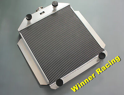 Aluminum Alloy radiator For Ford car flathead V8 engine M/T 1949-1952 56MM Core