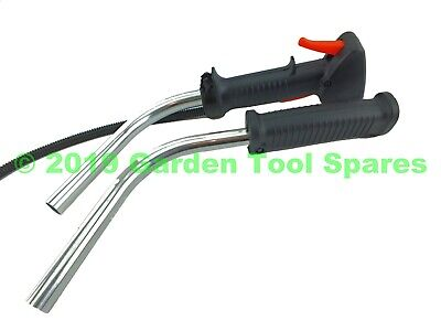 New Complete Bull Horn Handle Bars To Fit Various Strimmer Trimmer Brush Cutter