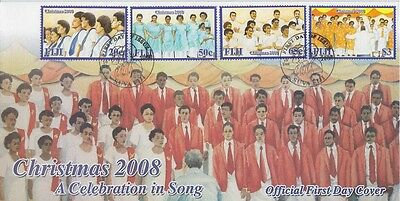 Fiji 2008 - Natale - Christmas - A Celebration In Song - Fdc