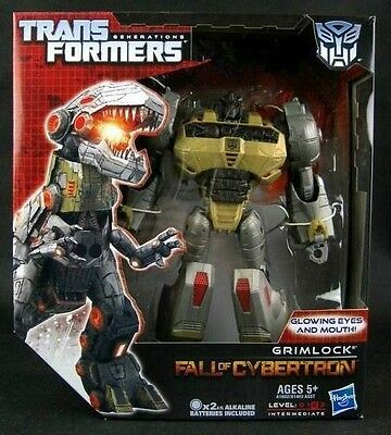 Transformers Generations Grimlock Voyager FOC Fall of Cybertron in Stock