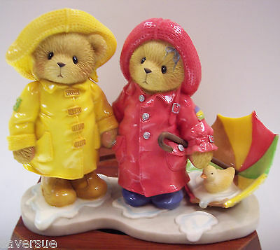 Cherished Teddies JOEY & LINDSEY  ~ We Can Weather Any Storm Together # 726621