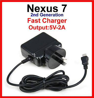 ASUS Google Nexus 7 Fast AC Charger 1st & 2nd Generation