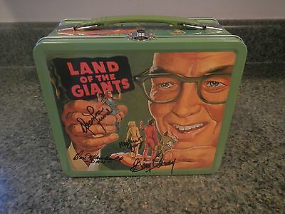 Land of the Giants (1968) Reproduction Lunchbox - Mint & AUTOGRAPHED !!!!!