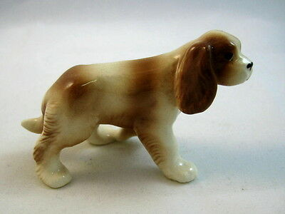 Hagen Renaker miniature made in America King Charles Spaniel dog