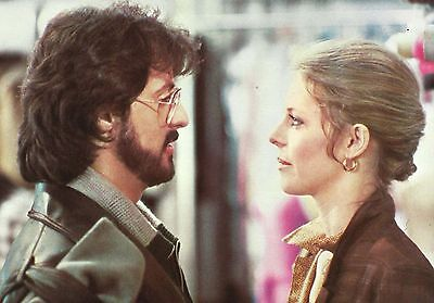 """LINDSAY WAGNER & SYLVESTER STALLONE in """"Nighthawks"""" Orig. COLOR Photo 1981"""