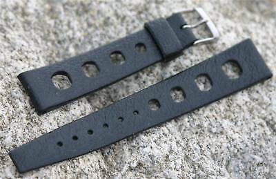 Swiss 19mm Tropic Sport strap big holes vintage NOS dive band for Heuer Camaro