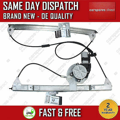 Vw Lupo Window Regulator With 2 Pin Motor Front Right Side 2/3 Doors 1998 2005