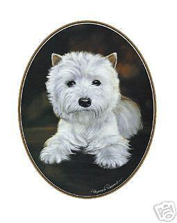 West Highland White Terrier Tie Tac -  a Classic Design