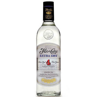 Flor de Cana 4 Year Old Extra Dry Rum 700ml